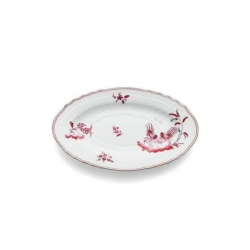 Galli Magenta Oval Pickle Dish
