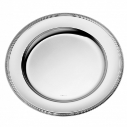 Malmaison Silver Plated Round Serving Platter