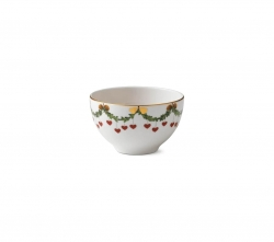 Star Fluted Christmas Bowl, 1.25 Cups