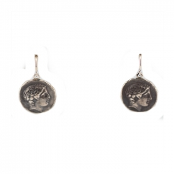 Phillip of Macedonia Replica Coin Earrings