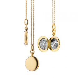 Round Nan Locket