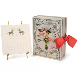 Karen Adams 2020 Calendar with Gold Easel