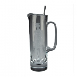 Dressage Rider Martini Pitcher