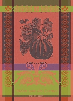 Melon Noir Kitchen Towel