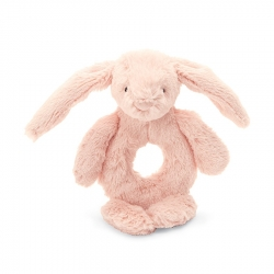 Bashful Blush Bunny Rattle