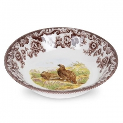Woodland Red Grouse Ascot Cereal Bowl