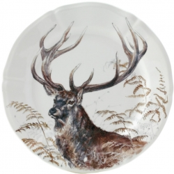 Sologne Dessert Plate - Stag