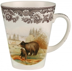 Woodland Black Bear Beverage Mug