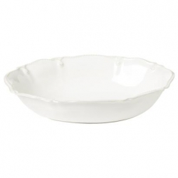 Berry & Thread Whitewash Small Oval Serving Bowl