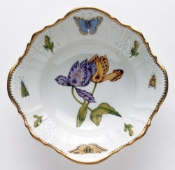 Old Master Tulips Round Open Vegetable Bowl