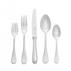Perles 2 Stainless Steel Five Piece Place Setting
