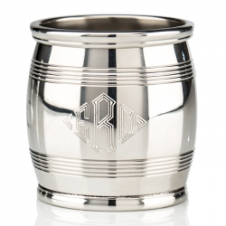 Asa Blanchard Pewter 9 Ounce Barrel Beaker