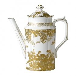 Gold Aves Coffee Pot