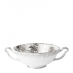 Platinum Aves Cream Soup Cup