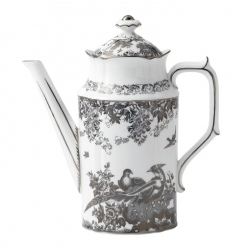 Platinum Aves Coffee Pot