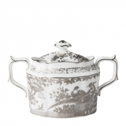 Platinum Aves Covered Sugar Bowl