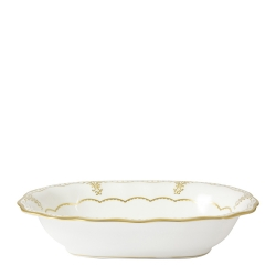 Elizabeth Gold Open Vegetable Dish