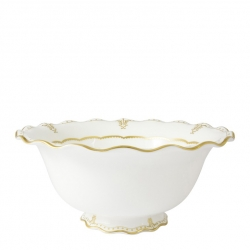 Elizabeth Gold Salad Bowl