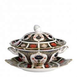 Old Imari Soup Tureen and Cover