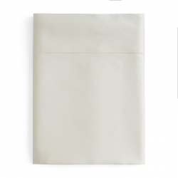 Giotto Ivory Full/Queen Flat Sheet