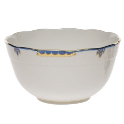Princess Victoria Blue Round Bowl