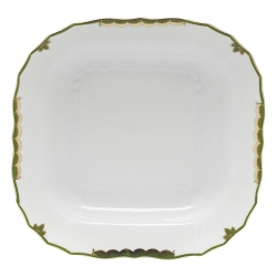 Princess Victoria Dark Green Square Fruit Dish