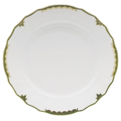 Princess Victoria Dark Green Dinner Plate