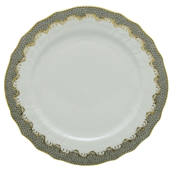 Fish Scale Gray Service Plate