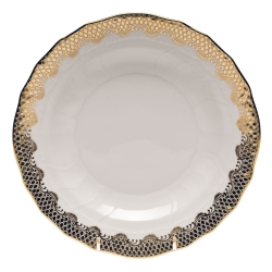 Fish Scale Gold Dessert Plate