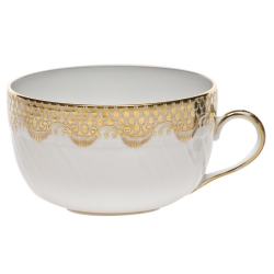 Fish Scale Gold Canton Cup
