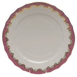 Fish Scale Pink Service Plate
