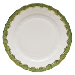 Fish Scale Evergreen Service Plate