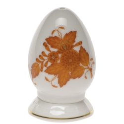 Chinese Bouquet Rust Single-Hole Pepper Shaker
