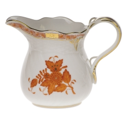 Chinese Bouquet Rust 4 Ounce Creamer