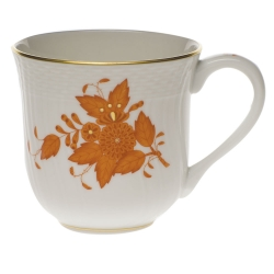 Chinese Bouquet Rust  Mug