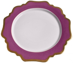Anna's Palette Purple Orchid Dinner Plate