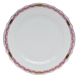 Chinese Bouquet Garland Raspberry Dinner Plate