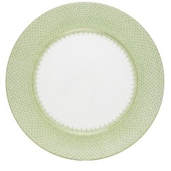 Apple Green Lace Service Plate