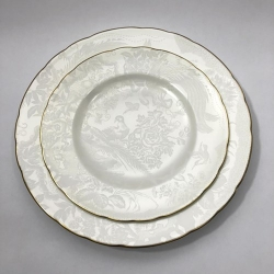 Aves Pearl Salad Plate