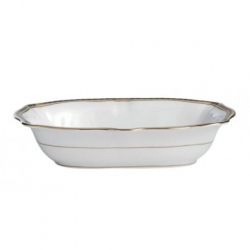 Carlton Gold Open Vegetable Bowl