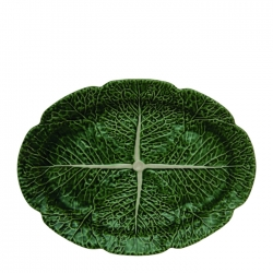 Cabbage Oval Large Platter
