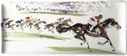 Cavaliers Oblong Serving Tray