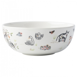12 Days of Christmas Cereal/Ice Cream Bowl