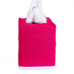 Chelsea Fuchsia Tissue Box Cover