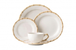 Bamboo 5 Piece Place Setting