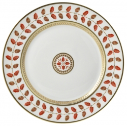 Constance Rouge Dinner Plate