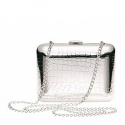 Croco D'Argent Evening Bag