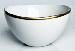 Simply Elegant Gold Fruit Bowl