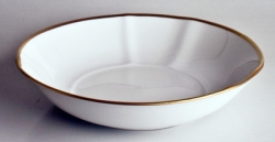 Simply Elegant Gold Soup Bowl