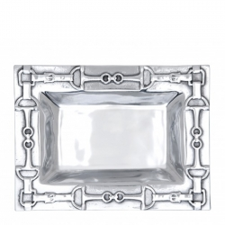 Equestrian Small Rectangular Tray